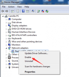 how to get driver for ethernet windows 10