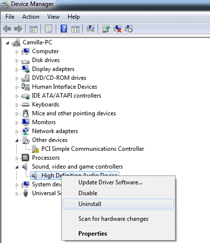 """Fix Error """"No audio Output Device is installed """" Easily! 