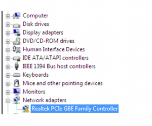 скачать драйвер realtek gbe family controller