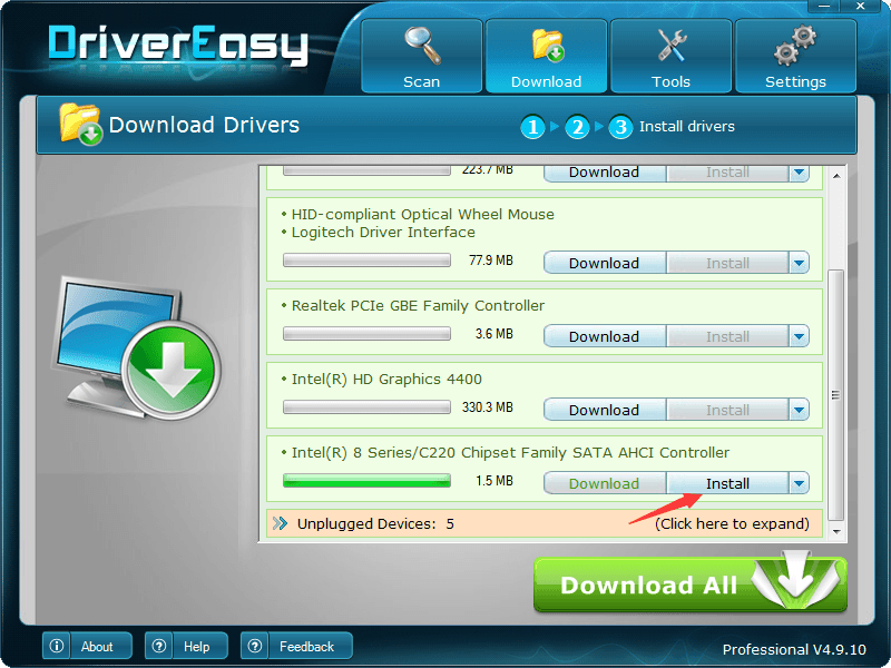 easy problem driver download