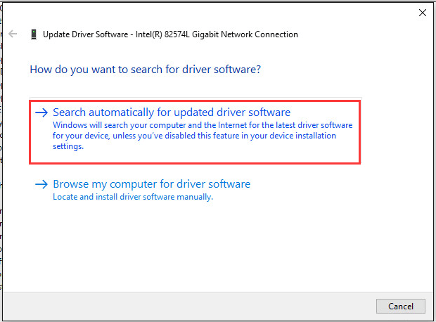 How to Fix Network Adapter Driver Issue for Windows 10
