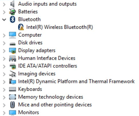 intel bluetooth driver for windows 10 download easily