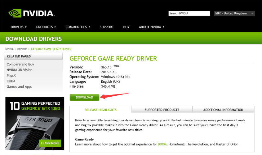 Latest Nvidia Drivers For Windows 7 64 Bit Free Download