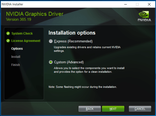 How to update nvidia high definition audio drivers for windows 10