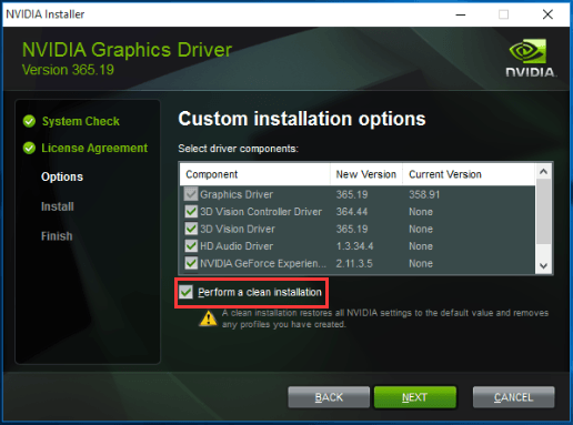Nvidia Geforce Driver Download Failed